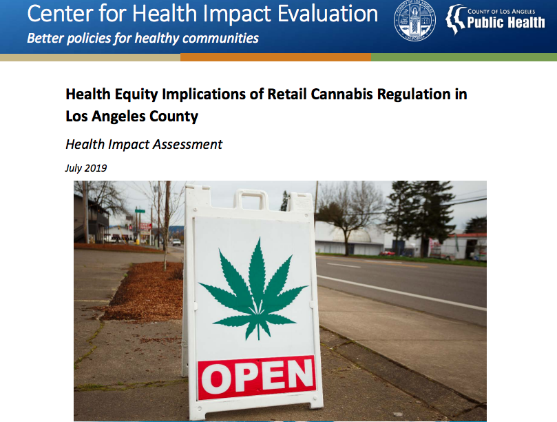 Health Equity Implications of Retail Cannabis Regulation in LA County
