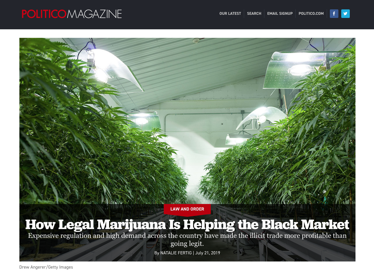 How Legal Marijuana Is Helping the Black Market